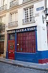 Resto Cave de Vins, a historic landmark restaurant and wine bar on Ile de la Cite, Paris, France, Europe