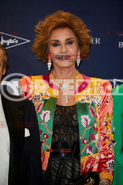 "Naty Abascal attends to  ""TELVA Tributo. Una cronica de moda. Coleccion Naty Abascal"" at Royal Academy of Fine Arts of San Fernando in Madrid, Spain. October 09, 2018. (ALTERPHOTOS/A. Perez Meca) /NortePhoto.com"