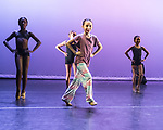 """Hush Up, and Dance!"" - Space & Tech Rehearsal of The 3D Project Jazz Company at Cary Ballet Conservatory. Friday, 10 Nov. 2017, Cary Arts Center, Cary, North Carolina"