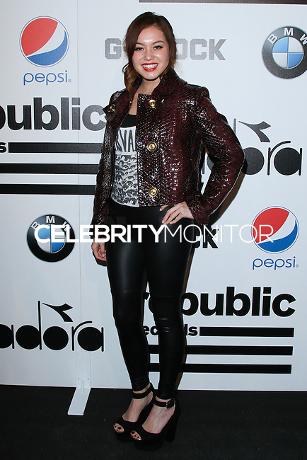 WEST HOLLYWOOD, CA - JANUARY 26: Guinevere at the Republic Records 2014 GRAMMY Awards Party held at 1 OAK on January 26, 2014 in West Hollywood, California. (Photo by David Acosta/Celebrity Monitor)