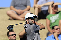 Adam Hadwin (CAN) tees off the 7th tee during Saturday's Round 3 of the Waste Management Phoenix Open 2018 held on the TPC Scottsdale Stadium Course, Scottsdale, Arizona, USA. 3rd February 2018.<br /> Picture: Eoin Clarke | Golffile<br /> <br /> <br /> All photos usage must carry mandatory copyright credit (&copy; Golffile | Eoin Clarke)