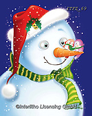 Fabrizio, Comics, CHRISTMAS SANTA, SNOWMAN, WEIHNACHTSMÄNNER, SCHNEEMÄNNER, PAPÁ NOEL, MUÑECOS DE NIEVE, paintings+++++,ITFZ69,#x#