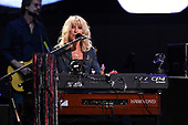 SUNRISE FL - FEBRUARY 20: Christine McVie of Fleetwood Mac performs at The BB&T Center on February 20, 2019 in Sunrise, Florida. Photo by Larry Marano © 2019