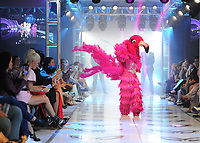 """BEVERLY HILLS - SEPTEMBER 10:  Flamingo at the Season two premiere event for FOX's """"The Masked Singer"""" at The Bazaar at the SLS Beverly Hills on September 10, 2019 in Beverly Hills, California. (Photo by Scott Kirkland/FOX/PictureGroup)"""