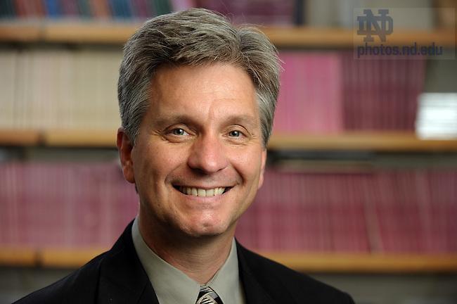 Professor of Economics Christopher Waller..Photo by Matt Cashore/University of Notre Dame