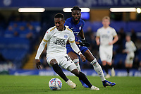 Siriki Dembele of Peterborough in action during Chelsea Under-21 vs Peterborough United, Checkatrade Trophy Football at Stamford Bridge on 9th January 2019