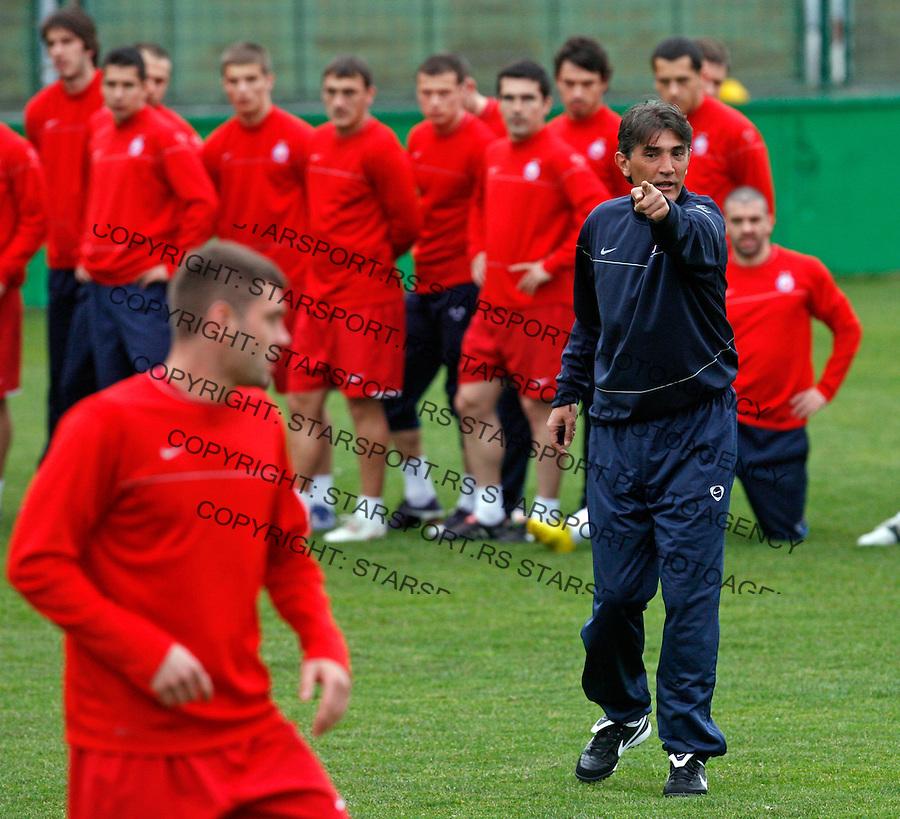 Sport Fudbal Crvena Zvezda Ratko Dostanic 22.3.2010. photo: Pedja Milosavljevic  +381641260959 thepedja@gmail.com