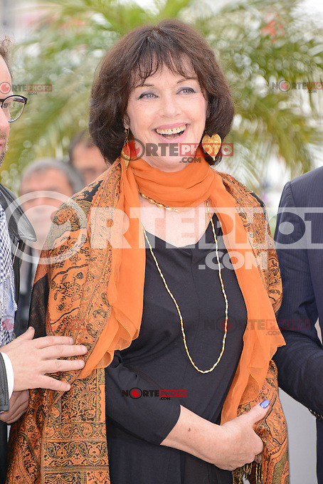 """Anne Duperey attending the """"vous n'avez encore rien vu"""" Photocall during the 65th annual International Cannes Film Festival in Cannes, France, 21th May 2012...Credit: Timm/face to face / Mediapunchinc"""