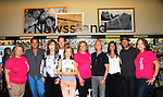 """American Cancer Society with Days Of Our Lives - Wally Kurth, Lauren Koslow, Drake Hogestyn, Melissa Reeves, Greg Meng (co-executive producer and author of this book), Kristen Alfonso and Greg Vaughan meet the fans as they sign """"Days Of Our Lives Better Living"""" on September 27, 2013 at Books-A-Million in Nashville, Tennessee. (Photo by Sue Coflin/Max Photos)"""