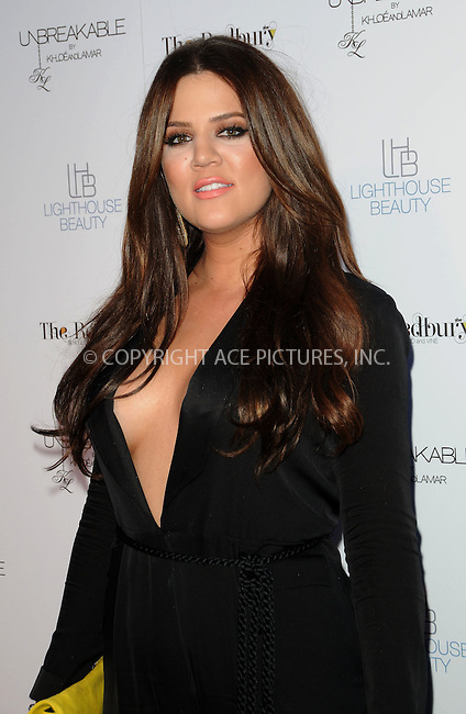 WWW.ACEPIXS.COM . . . . . ....April 4 2011, Los Angeles....Khloe Kardashian at the 'Unbreakable' Fragrance Launch at The Redbury on April 4, 2011 in Los Angeles, CA....Please byline: PETER WEST - ACEPIXS.COM....Ace Pictures, Inc:  ..(212) 243-8787 or (646) 679 0430..e-mail: picturedesk@acepixs.com..web: http://www.acepixs.com