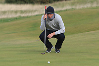 Marcel Siem (GER) on the 16th green during round 4 of the Alfred Dunhill Links Championship at Old Course St. Andrew's, Fife, Scotland. 07/10/2018.<br /> Picture Thos Caffrey / Golffile.ie<br /> <br /> All photo usage must carry mandatory copyright credit (&copy; Golffile | Thos Caffrey)