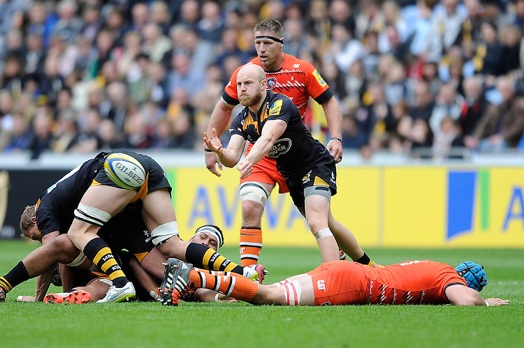 Joe Simpson of Wasps sets another phase underway