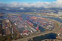 Containerterminal Hamburg: EUROPA, DEUTSCHLAND, HAMBURG, (EUROPE, GERMANY), 02.01.2009 Eurogate Container Terminal Hamburg GmbH und HHLA Container Terminal Burchardkai GmbH