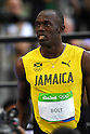 Usain Bolt (JAM), <br /> AUGUST 13, 2016 - Athletics : <br /> Men's 100m Round 1 at Olympic Stadium during the Rio 2016 Olympic Games in Rio de Janeiro, Brazil. <br /> (Photo by Koji Aoki/AFLO SPORT)