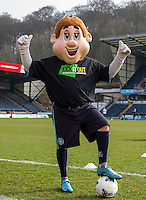 Bodger poses in the Kick it Out shirt during the Sky Bet League 2 match between Wycombe Wanderers and Stevenage at Adams Park, High Wycombe, England on 12 March 2016. Photo by Andy Rowland/PRiME Media Images.