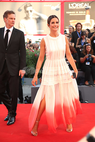 Colin Firth, Livia Giuggioli attend the premiere of 'Nocturnal Animals' during the 73rd Venice Film Festival at on September 2, 2016 in Venice, Italy<br /> CAP/GOL<br /> &copy;GOL/Capital Pictures /MediaPunch ***NORTH AND SOUTH AMERICAS ONLY***
