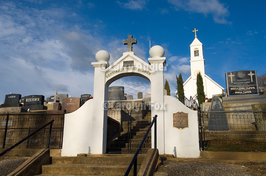 St. Sava Serbian Orthodox Church and cemetery, first Serbian Orthodox Church in the Western Hemisphere built in 1894