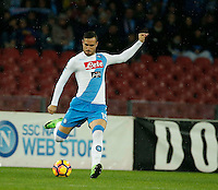 Nikola Maksimovic  during the SSC Napoli vs Atalanta, serie A  soccer match at  San Paolo Stadium in Naples , Italy 25 February 2017 Photo: Ciro De Luca ciro de luca<br />   +39 02 43998577 sales@silverhubmedia.it
