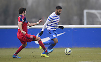Armand Traore of QPR and Chris Ritter of Chicago Fire