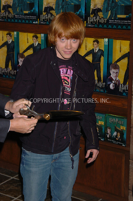 "WWW.ACEPIXS.COM . . . . . ....July 13 2007, New York City....Actor Rupert Grint, who stars in the 'Harry Potter' series of movies opened the new ""Harry Potter Store"" at FAO Schwarz in midtown Manhattan. Grint signed for fans and posed for photographs.....Please byline: AJ SOKALNER - ACEPIXS.COM.. . . . . . ..Ace Pictures, Inc:  ..(646) 769 0430..e-mail: info@acepixs.com..web: http://www.acepixs.com"
