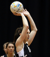 05.08.2015 Silver Ferns Bailey Mes during Silver Ferns training ahead of the 2015 Netball World Champs at All Phones Arena in Sydney, Australia. Mandatory Photo Credit ©Michael Bradley.