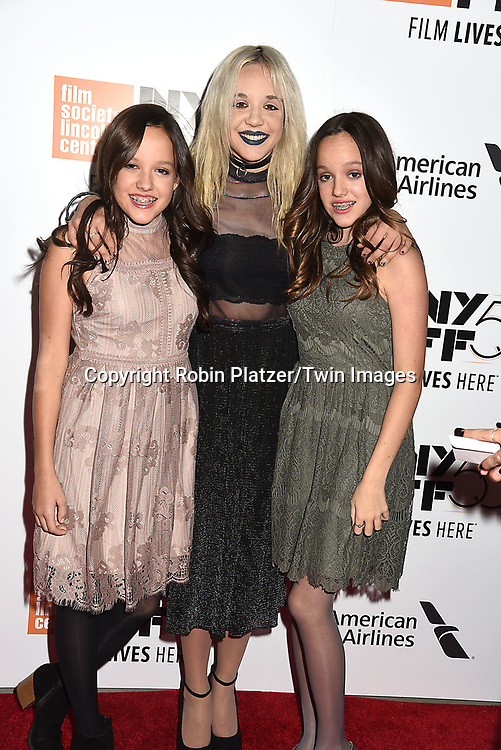 Director/Screenwriter Richard Linklater and his daughters attends the Opening Night Gala Presentation and World Premiere of &quot; Last Flag Flying&quot; at the 55th New York Film Festival on September 28, 2017 at Alice Tully Hall in Lincoln Center in New York City. <br /> <br /> photo by Robin Platzer/Twin Images<br />  <br /> phone number 212-935-0770