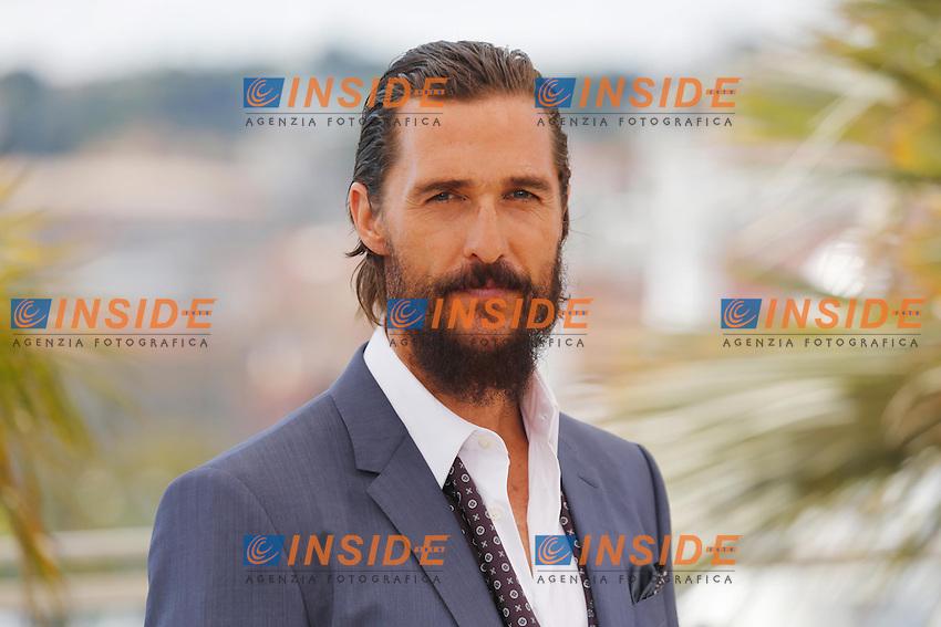 Mattthew McConaughey  <br /> Festival del Cinema di Cannes 2015<br /> Foto Panoramic / Insidefoto