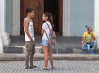 Young love, La Habana Vieja