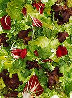 Food - Produce, Pre-cut salad mix.