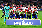 Team photo of Atletico de Madrid during La Liga match between Atletico de Madrid and Granada CF at Wanda Metropolitano Stadium in Madrid, Spain. February 08, 2020. (ALTERPHOTOS/A. Perez Meca)