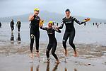Banana Boat Ocean Swim Series, King of the Bays, Cheltenham to Devonport, Auckland, New Zealand, Saturday 14 April 2018. Photo: Simon Watts/www.bwmedia.co.nz