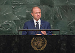 72 General Debate &ndash; 22 September <br /> <br /> by His Excellency Joseph Muscat, Prime Minister of the Republic of Malta