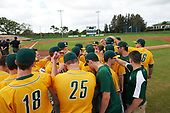 Siena Saints  during a game against the Pittsburgh Panthers on February 24, 2017 at Historic Dodgertown in Vero Beach, Florida.  Pittsburgh defeated Siena 8-2.  (Mike Janes/Four Seam Images)