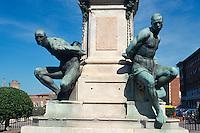 Italien, Toskana, Livorno, Denkmal Quatro Mori von 1624