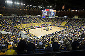 University of Michigan basketball (men) 81-73 victory over Duke at Crisler Arena  on 12/6/08.