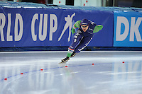 SPEED SKATING: STAVANGER: Sørmarka Arena, 31-01-2016, ISU World Cup, 1000m Men Division B, Jesper Hospes (NED), ©photo Martin de Jong