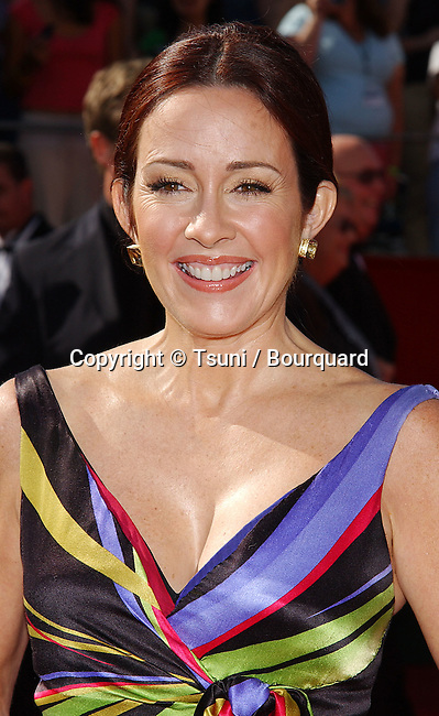 Patricia Heaton at the 56th Emmy Awards at the Shrine Auditorium in Los Angeles. September 19, 2004.