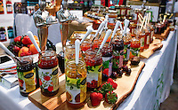 NEW YORK, NY JUNE 27: Food products are displaying at Annual Summer Fancy Food Show at the Javits Center in Manhattan on June 27, 2016 in New York City. (Photo by VIEWpress)