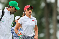 Maria Fassi (MEX) on the 3rd during the final  round at the Augusta National Womans Amateur 2019, Augusta National, Augusta, Georgia, USA. 06/04/2019.<br /> Picture Fran Caffrey / Golffile.ie<br /> <br /> All photo usage must carry mandatory copyright credit (© Golffile | Fran Caffrey)