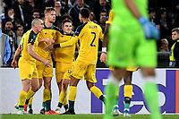 James Forrest of Celtic celebrates after scoring a goal<br /> Roma 7-11-2019 Stadio Olimpico <br /> Football Europa League 2019/2020 <br /> SS Lazio - Celtic <br /> Photo Antonietta Baldassarre / Insidefoto
