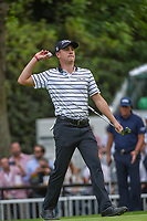 Justin Thomas (USA) prepares to toss his ball to his caddie on 16 during round 2 of the World Golf Championships, Mexico, Club De Golf Chapultepec, Mexico City, Mexico. 2/22/2019.<br /> Picture: Golffile | Ken Murray<br /> <br /> <br /> All photo usage must carry mandatory copyright credit (&copy; Golffile | Ken Murray)