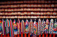 Paper cranes and wood votive tablets, Fushimi Inari shrine, Kyoto, Japan