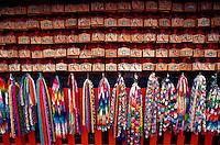 Paper cranes and wood votive tablets, Fushimi Inari shrine, Kyoto, Japan