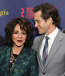 """Elizabeth Taylor and Hugh Dancy attends the Broadway Opening Night Celebration for the Roundabout Theatre Company production of """"Apologia"""" on October 16, 2018 at the Laura Pels Theatre in New York City."""