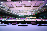 General view, <br /> AUGUST 21, 2018 - Artistic Gymnastics : <br /> Women's Individual All-Around <br /> at JIEX Kemayoran Hall D <br /> during the 2018 Jakarta Palembang Asian Games <br /> in Jakarta, Indonesia. <br /> (Photo by Naoki Nishimura/AFLO SPORT)