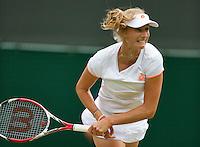 England, London, 28.06.2014. Tennis, Wimbledon, AELTC, Ekaterina Makarova (RUS)<br /> Photo: Tennisimages/Henk Koster