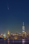 Neowise Comet over New York City by Tuhin Das