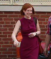 Cynthia Nixon filming ''Sex In The City 2'' 2009<br /> Photo By John Barrett/CelebrityArchaeology.com