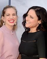 LOS ANGELES - MAY 25:  Anna Chlumsky, Julia Louis-Dreyfus at the FYC for HBO's series VEEP 6th Season at the ATAS Saban Media Center on May 25, 2017 in North Hollywood, CA