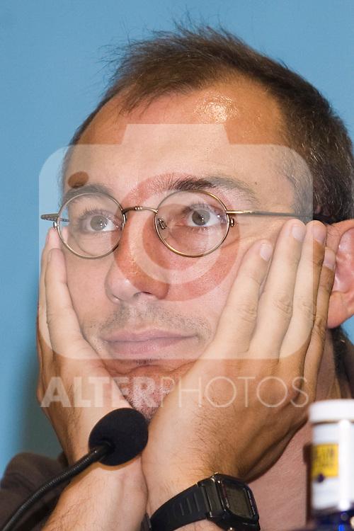 Estudiantes' General Manager Nacho Azofra. August 6 2009. (ALTERPHOTOS/Acero).